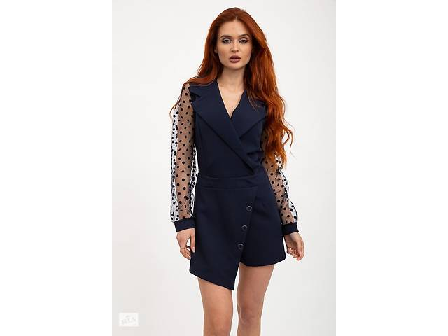 Комбинезон женский 119R0408 цвет Темно-синий- объявление о продаже  в Одессе