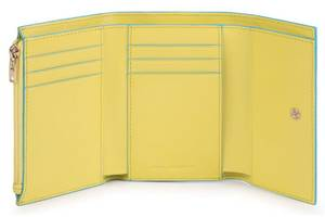 Кошелек кожаный Piquadro Bl Square, желтый