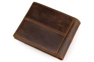 Кошелек мужской Vintage  коричневый Vntg14225