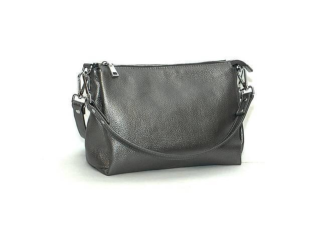 Кожаная сумка Флотар 36 Темно-серебристый (SK_36_nickel_flotar)- объявление о продаже  в Одессе