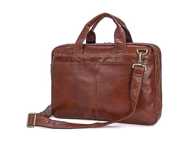 продам Кожаная сумка мужская для документов и ноутбук 7092-2В от John McDee JhnMcDJD7092-2B бу в Киеве