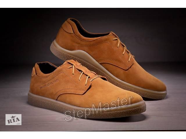 продам Кожаные мужские туфли Tommy Hilfiger Brown Leather бу в Вознесенске