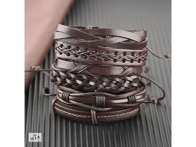 Кожаный браслет 6 в 1- объявление о продаже  в Николаеве