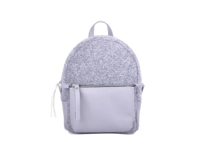 продам Кожаный женский рюкзак Sport Felt серый JzzSP292310FEG бу в Киеве