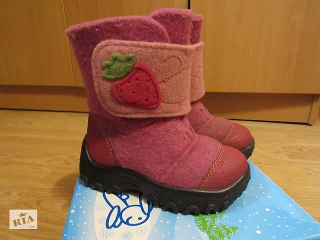 бу Красиві рожеві валянки 27 розмір. Ідеальний стан Kapika Floare в Вінниці