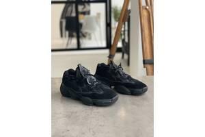 Кроссовки Adidas Yeezy 500 Utility Black Адидас Изи 500 Чёрные  %5b 41,43%5d реплика