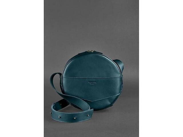 продам Круглая сумка-рюкзак maxi Малахит - зеленая BlnkntBN-BAG-30-malachite бу в Киеве
