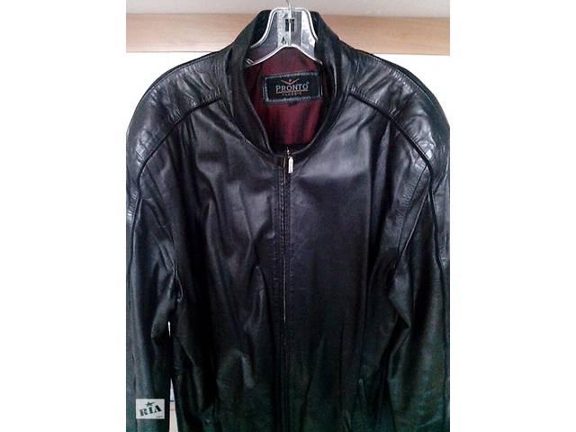 Куртка кожаная мужская Pronto Classic (Италия).- объявление о продаже  в Черкассах