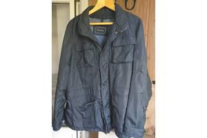 Куртка мужская Massimo Dutti, плащевка и кожаные элементы