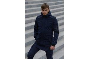 Куртка мужская синяя демисезонная Ключница в подарок SKL59-283338