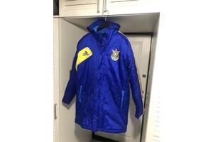 Куртка-пальто зимове, Adidas збірна України, чоловіча, розмір М, нова