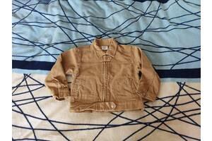 Курточка-пиджак микровельвет для мальчика 2 года (б/у)