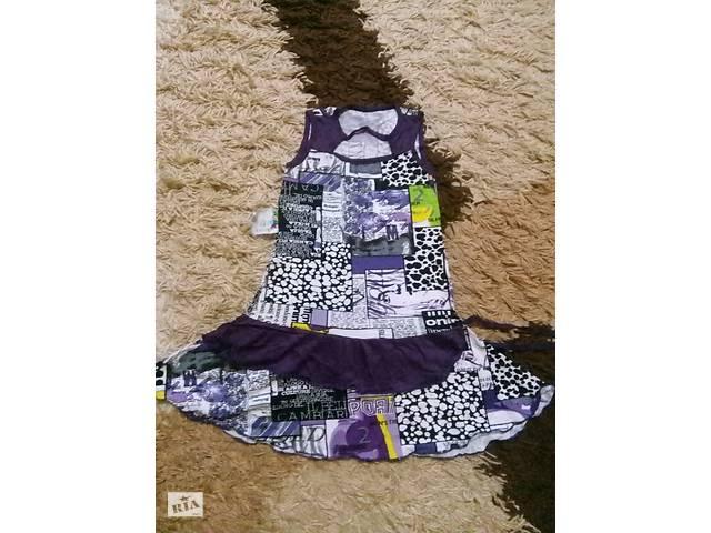 Летнее платье р.30 на рост 98-104 см на 3-4 года