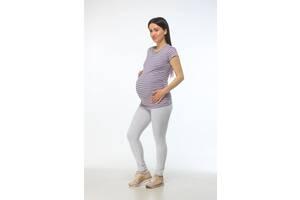 Лосины леггинсы для беременных Luna Style 50-52 серый