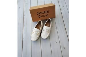 Мокасины, балетки, туфли для девочки, легкая и удобная модель