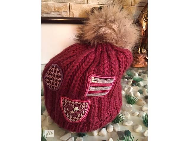 Молодежная женская шапка Божена(Bozena) ТМ Камея,  шерстяная