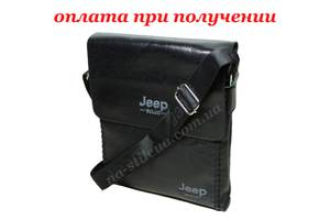 Мужская cумка шкiряна барсетка кожаная фирменная Jeep новинка подарок