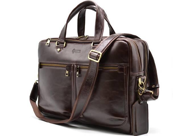 продам Мужская кожаная сумка для ноутбука и документов  TARWA TRWTX-4664-4lx бу в Киеве
