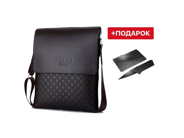 Мужская сумка через плечо Polo Videng! Барсетка Поло Виденг! Барсетка- объявление о продаже  в Харькове