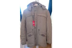 мужская тёплая куртка-парка (с капюшоном)