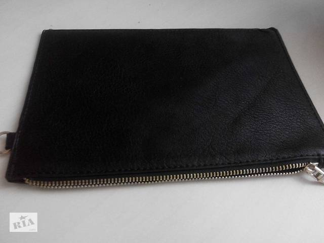 купить бу Мужской клатч-кошелек кожаный ZARA Basic в Ирпене