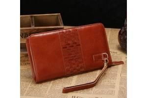 Чоловік клатч Vintage 14189 Коричневий
