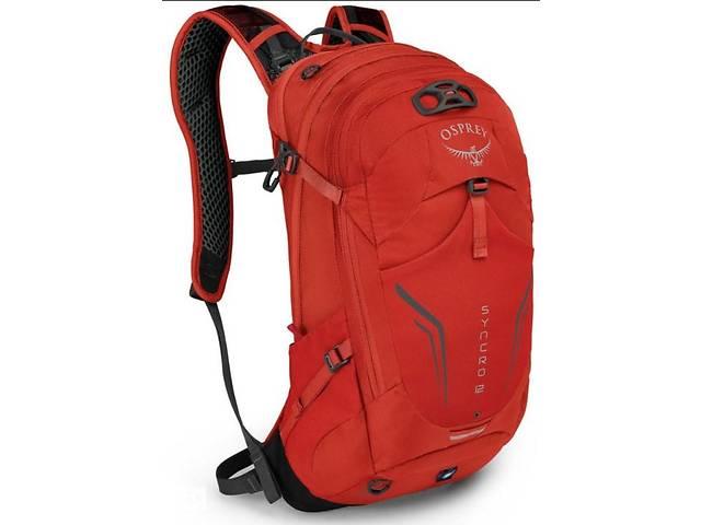 купить бу Мужской рюкзак Osprey Syncro 12 красный на 12 л в Киеве
