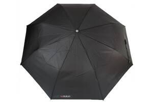 Мужской зонт автомат H Due O черный