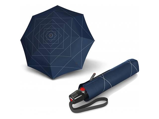 купить бу Мужской зонт автомат Knirps T 200 Nuno Downpour, синий в Киеве