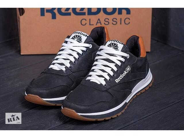 продам Чоловічі шкіряні кросівки Reebok Classic Leather Trail black бу в Хмельницком