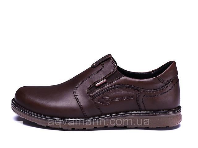 бу Мужские кожаные туфли Kristan brown old school в Днепре (Днепропетровск)