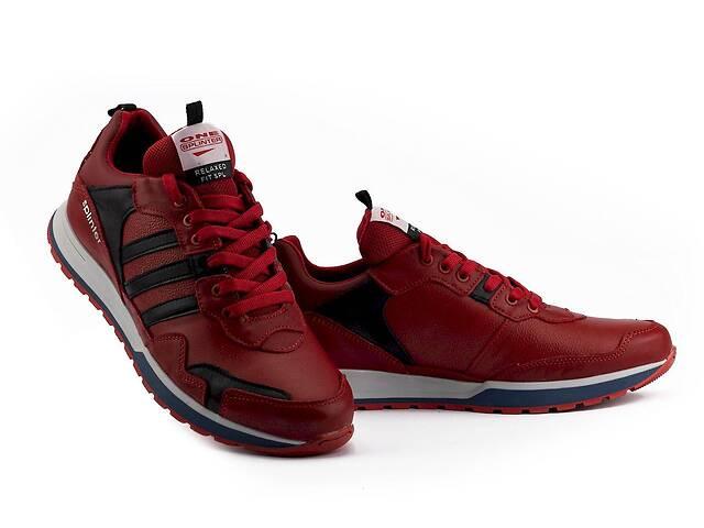 продам Мужские кроссовки кожаные весна/осень красные Splinter Terrex 1919 бу в Хмельницком