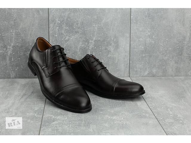 бу Мужские туфли кожаные весна/осень коричневые Stas 334-26-92 в Хмельницком