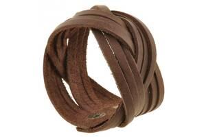 Наручный стильный браслет из кожи BlankNote BN-BR-1-o, орех