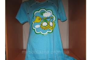 Нічна сорочка ДЛЯ ГОДУВАННЯ 100% бавовна пр-во Узбекистан, розмір 50-52, різні забарвлення