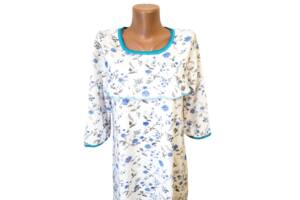 Ночные рубашки женские на байке хлопок р.54,56,58,60. От 4шт по 119грн.