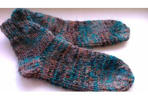 Нові шкарпетки жіночі мохер, теплі. Розмір 37-38