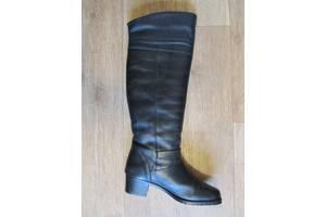 Нові італійські (р. 41) жіночі зимові чоботи (ботфорти) Cardinalli