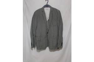 Новий неформальний м'ятий піджак льон-бавовна Scotch&Soda 48р