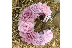 Ободок Рожеві троянди