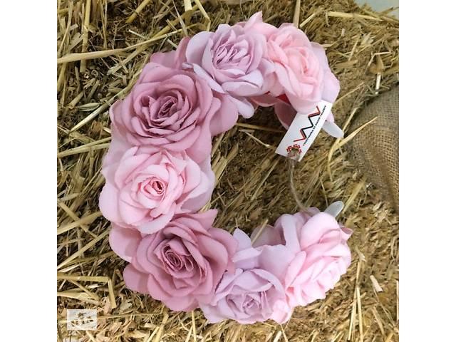 продам Ободок Розовые розы бу в Чернигове