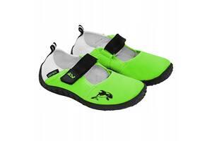 Обувь для пляжа и кораллов аквашузы SportVida Size 26 Green SKL41-238058