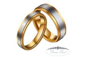 "Парные кольца для влюбленных ""Шаг к мечте"" (ж 16.3 18.3 19.3 20.3 21.3 м 17.3 18 19.3 20.3 21.3)"