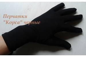 Перчатки для показа ювелирных изделий Корса черные. Размер 18(М).