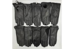 Перчатки оптом из кожи женские Birreti