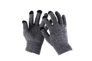 Перчатки Supretto сенсорные, серые (5466)