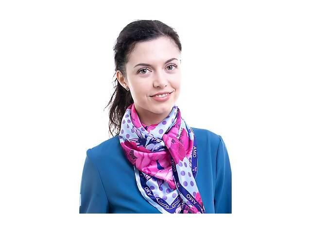 бу Платок большой AMO Платок женский шелковый 90*90 см AMO STAMOp90901 в Одессе