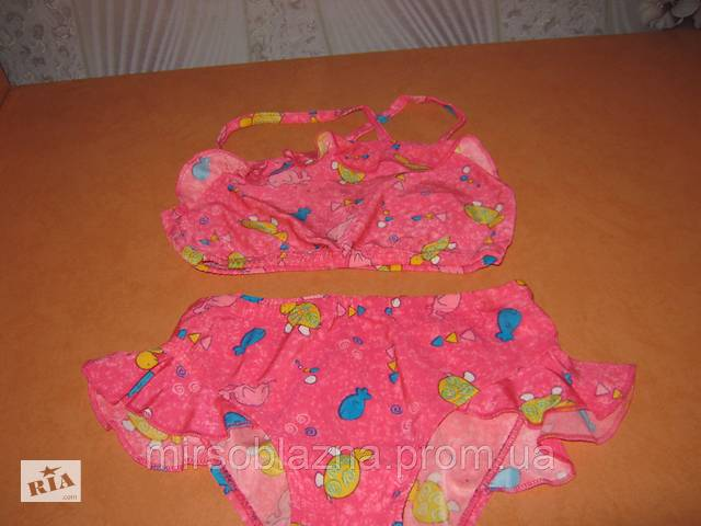бу Підлітковий роздільний купальник для дівчинки рожевий б/у в Кам'янському (Дніпродзержинськ)