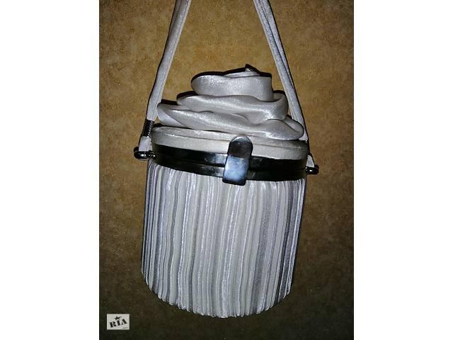 купить бу Продается сумка белого цвета в Житомире