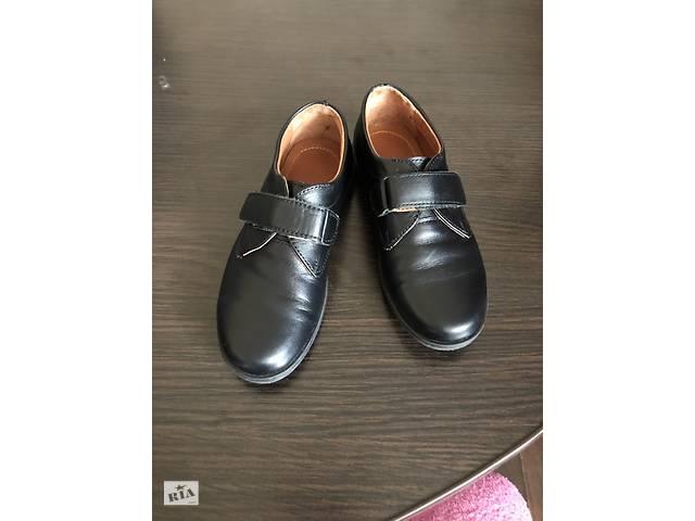 продам Продам кожаные туфли на мальчика бу в Запорожье